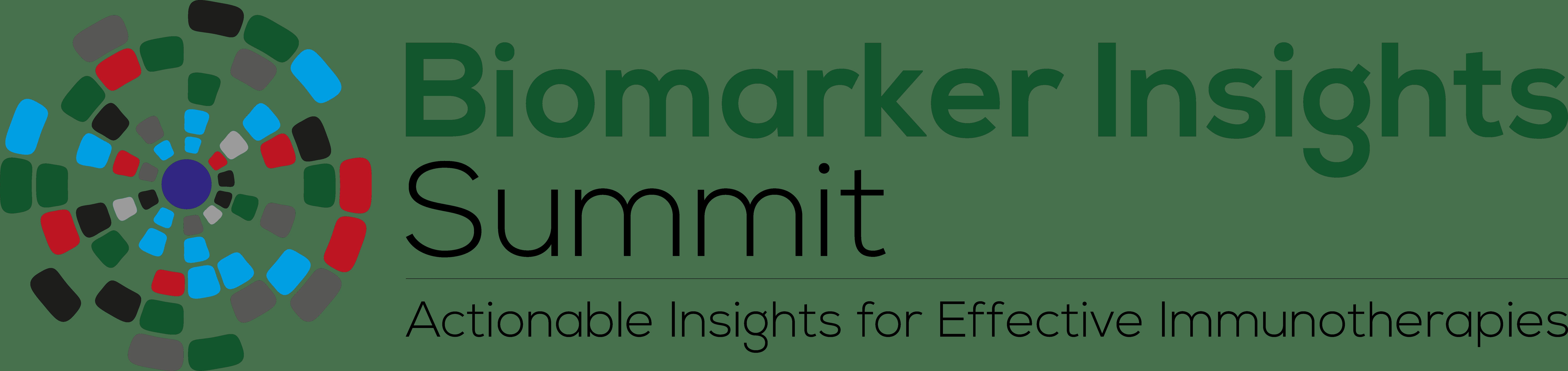 Biomarker Insights Summit logo Tagline