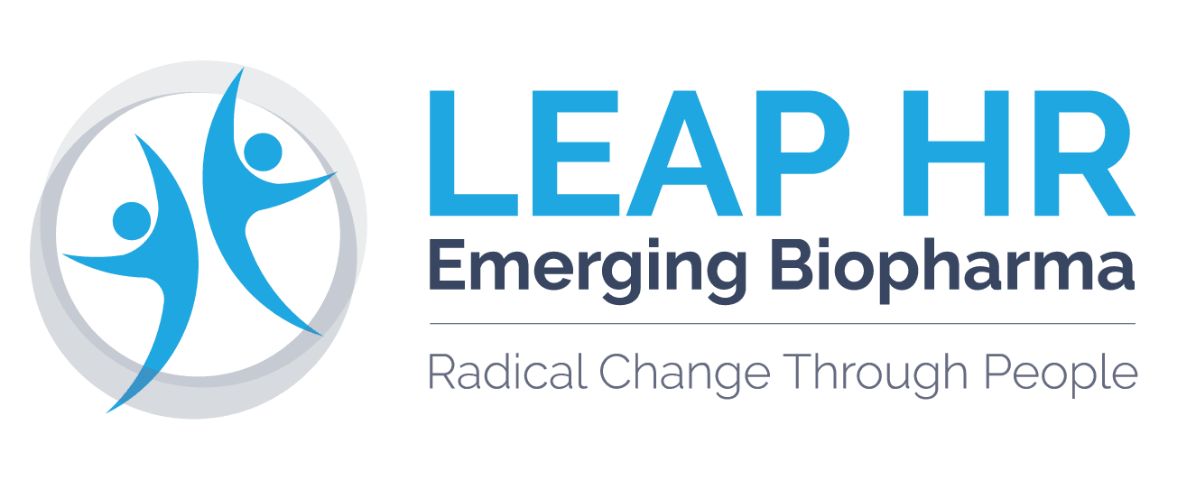 LEAP HR Emerging Biopharma Logo - Positive